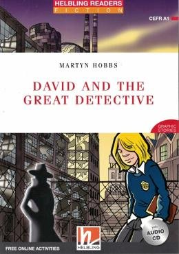 DAVID AND THE GREAT DETECTIVE WITH AUDIO CD & ONLINE ACT. E-ZONE